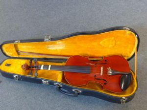 Second hand 3/4 size violin unbranded